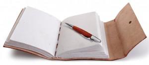 Ein schönes Reisetagebuch regt zum Schreiben an - ohphoria.de