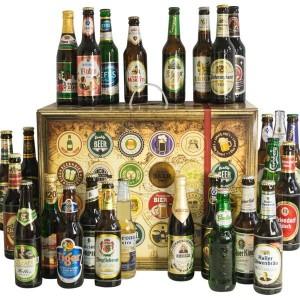 Biergeschenke zur Weihnachtszeit: Der Bieradventskalender inspiriert mit verschiedenen Biersorten aus aller Welt