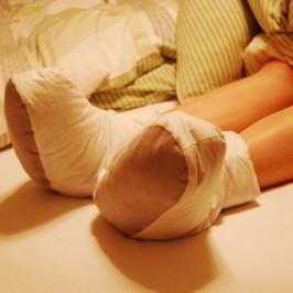 Schlafschuhe: Kalte Füße beim Schlafen? Jetzt nicht mehr! Endlich wieder durchschlafen