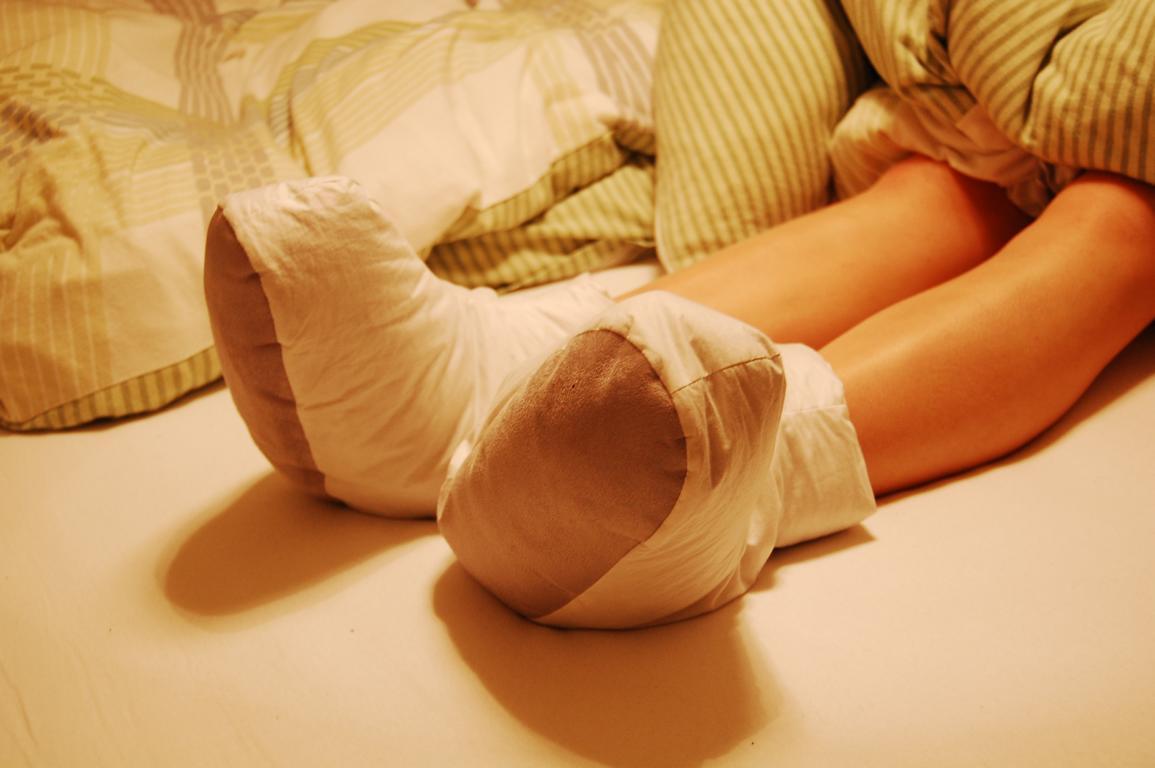 Nützliche Geschenke können so praktisch sein, wie z.B. Schlafschuhe