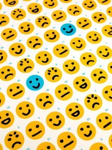 Kleinder Smiley, große Wirkung - täglich reflektieren und entspannt in den Feierabend mit ohphoria.de