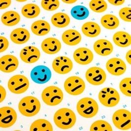 Zeit für einen Smiley-Kalender: Bewusster Leben und zufrieden in den Feierabend