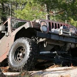 Jeep Offroad Tour: Auf der Straße fahren nur die Angsthasen