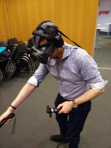 Mit Virtual Reality Brillen taucht man ab in eine völlig neue Welt - das muss man gesehen haben
