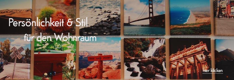 Reise-Erinnerungen auf Fotoleinwand