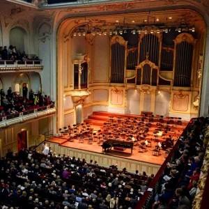 Die historische Hamburger Konzerthalle ist eine super Location für klassische Musik Geschenke
