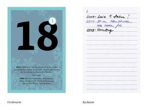 Ein Erinnerungskalender erlaubt uns jeden Tag zu reflektieren, was wir an diesem Tag in der Vergangenheit gemacht haben - ohphoria.de