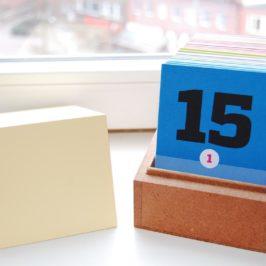Was kommt raus wenn man Kalender & Tagebuch paart? Ein wunderschöner Erinnerungskalender