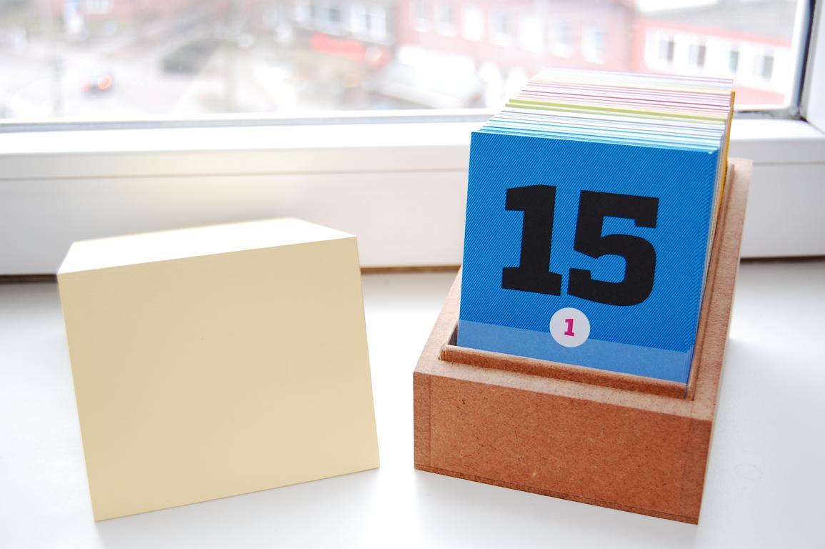 Im Erinnerungskalender hält man nur das Wichtigste fest - ein schöner Ersatz für unsere Tagebücher