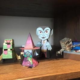 Origami der Neuzeit: Papiermonster als Geschenkideen zum Basteln für Kinder & Erwachsene
