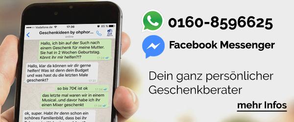 Die Whatsapp Geschenkberatung als gute Alternative zu sonstigen Geschenkfinder