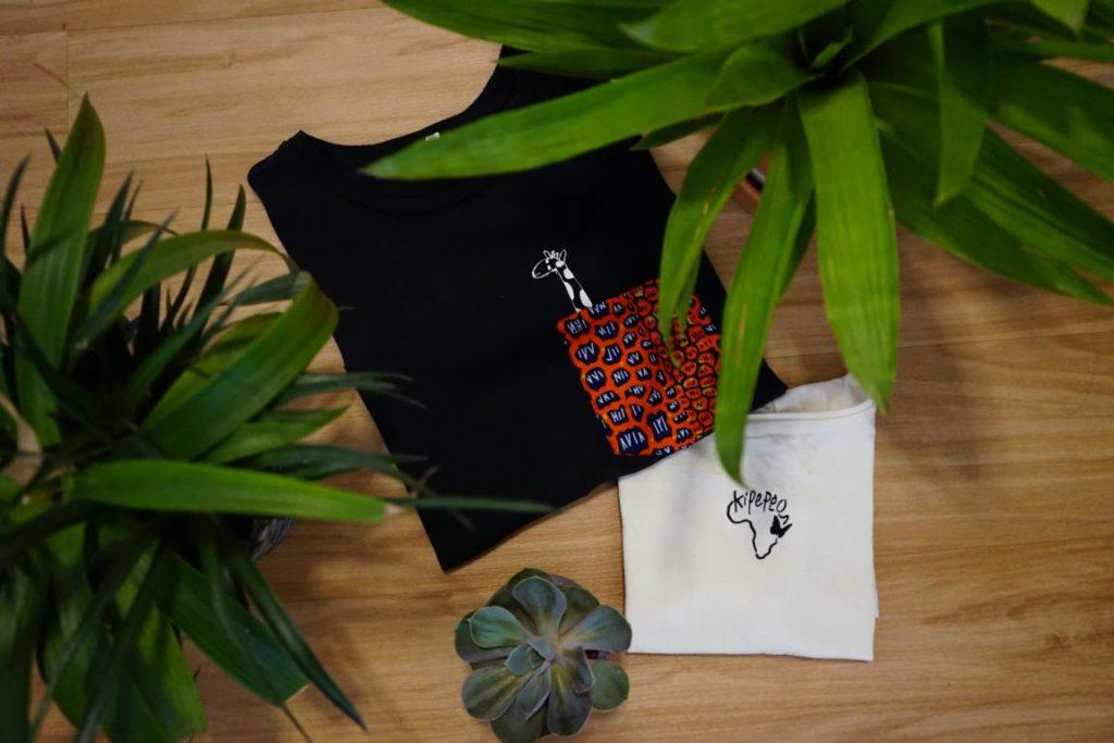 So macht soziales Engagement richtig Spaß - die T-Shirts von Kipepeo sehen nämlich auch super aus