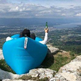 Luftsofa: Mit dem Lamzac Hangout überall gemütlich & unkompliziert chillen