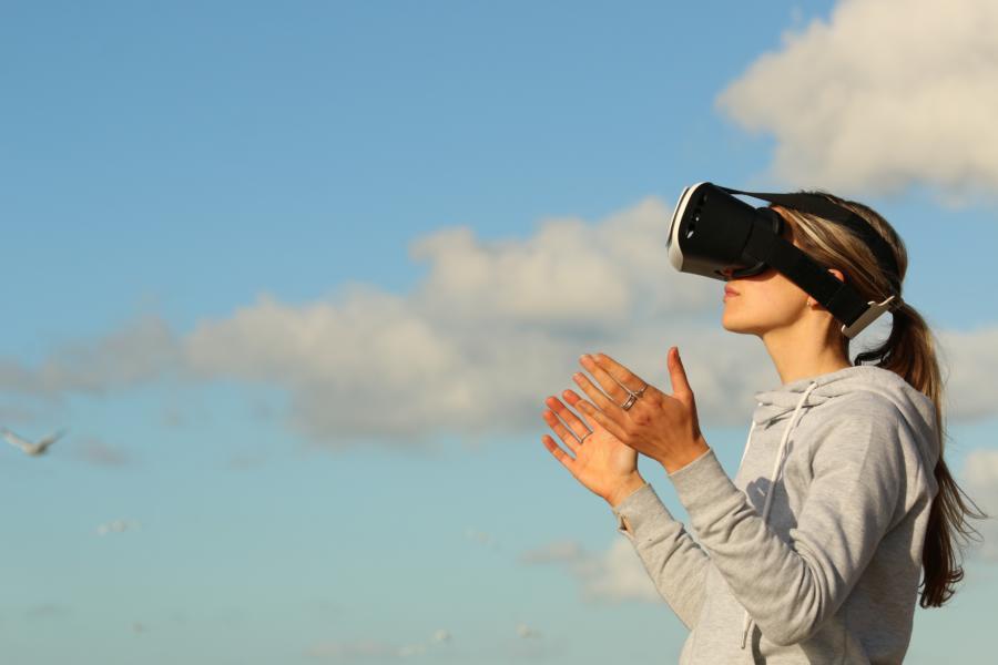 Dank VR Brille können wir zukünftig immer da sein wo wir möchten