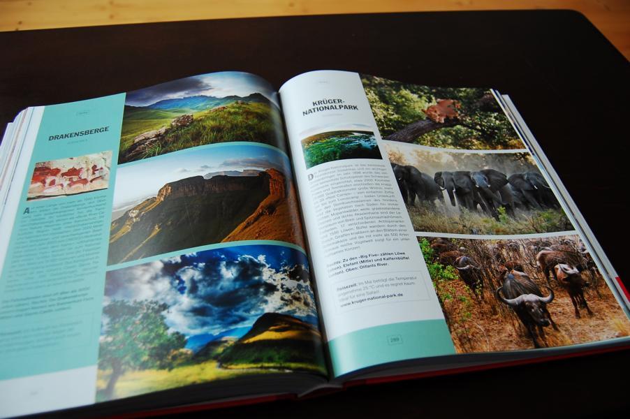 Das Bildband weckt Fernweh und Reiselust und umfasst alle wichtigen Informationen