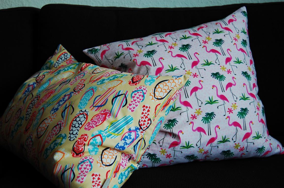 Schöne Kissen können das Sofa und die Wohnung optisch richtig aufwerten