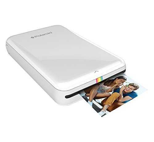 Der Handydrucker von Polaroid passt super in die Handtasche und ist mobil einsetzbar