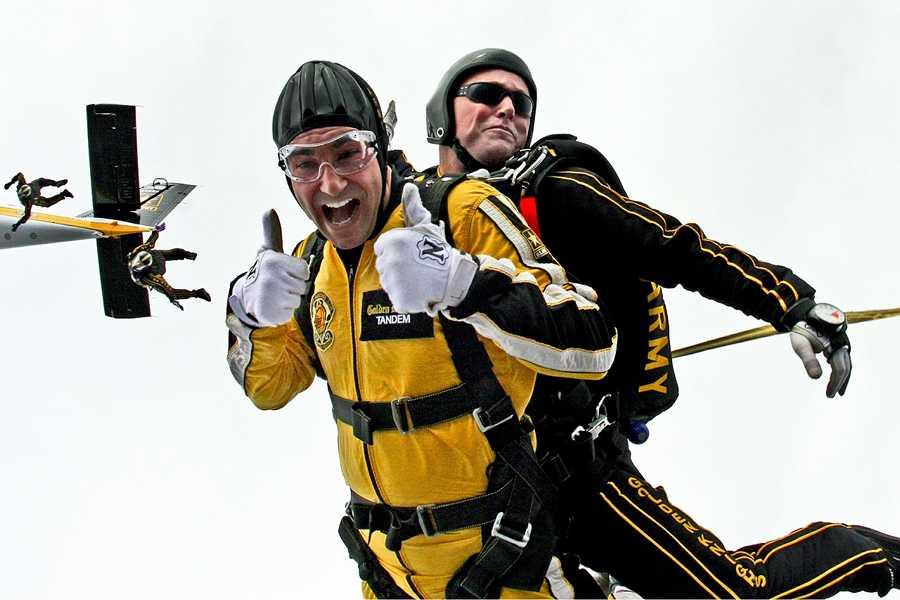 Windkanal Fallschirmspringen ist vor allem auch für alle Newbies ein erster guter Schritt