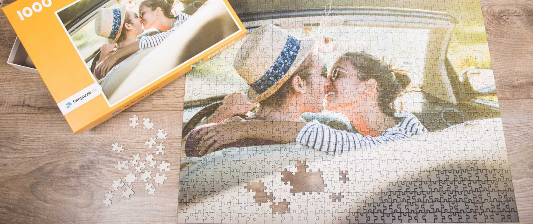 Mit einem Fotopuzzle kann man sich gemeinsam und intensiv an tolle Momente erinnern