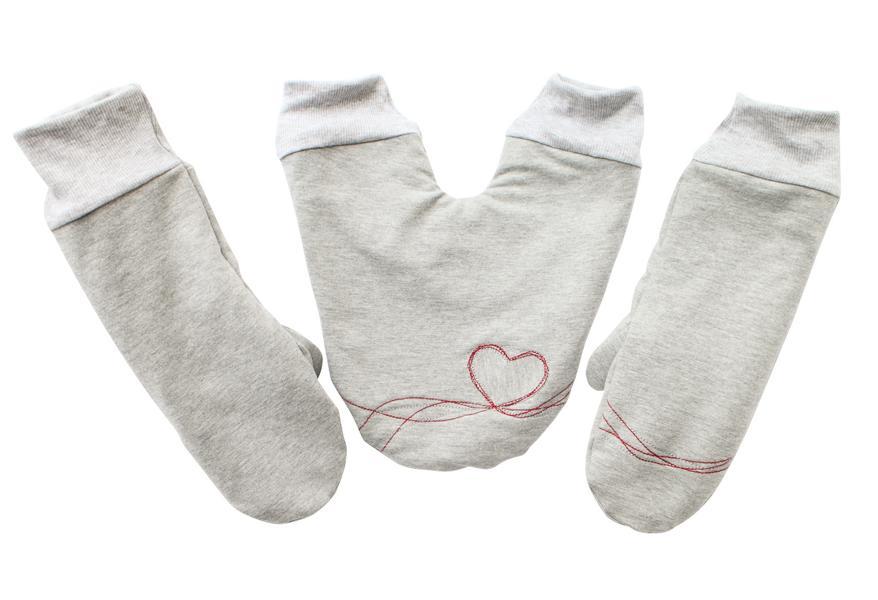 Mit Partnerhandschuhen bleiben natürlich alle Hände schön warm