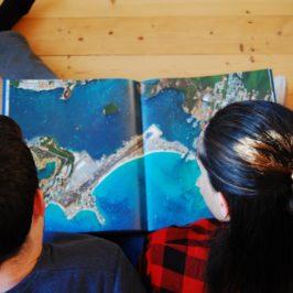 Statt TV mit dem riesigen Bildband Human Footprint & Satellitenbilder der Erde gemeinsam über die Welt philosophieren