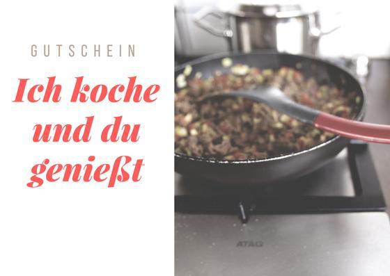 Gutschein für Kochen