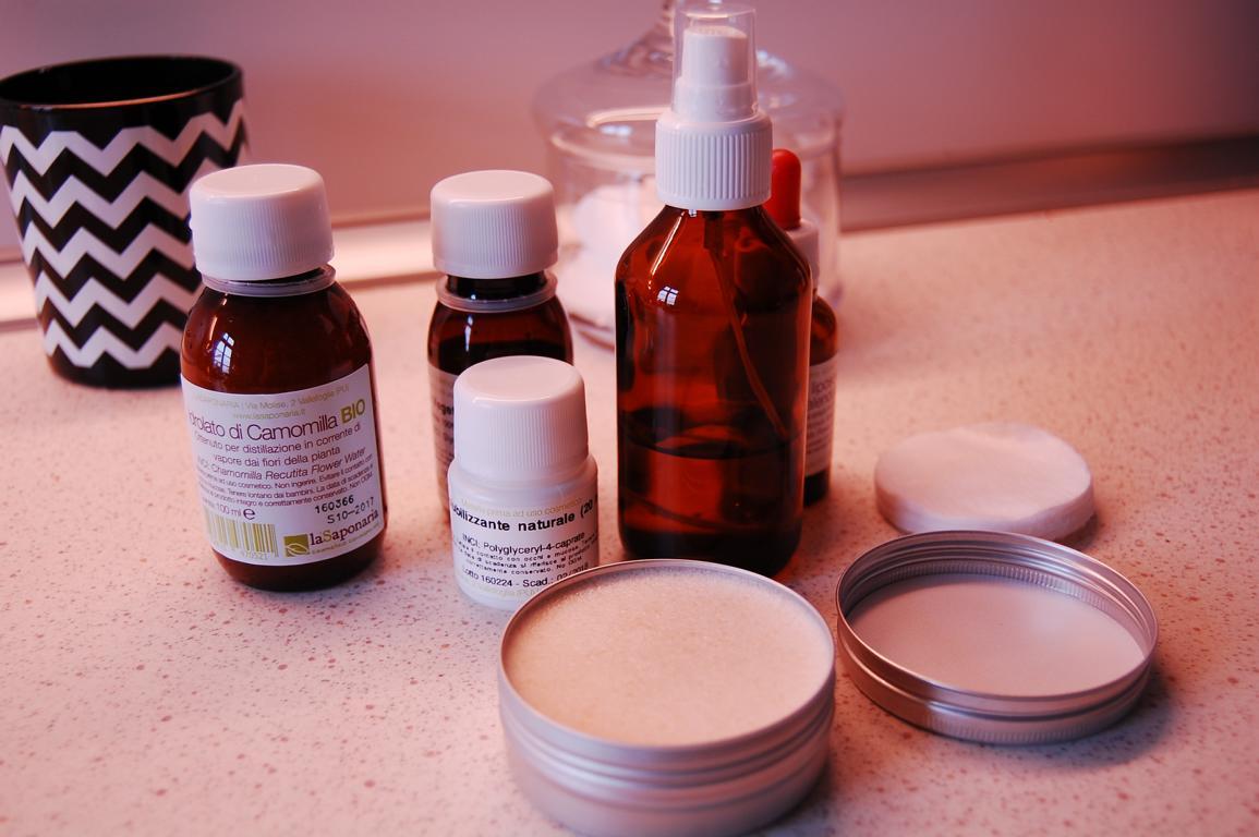 Mit diesem DIY Kosmetik Set kann man im Handumdrehen Gesichtscreme selber machen