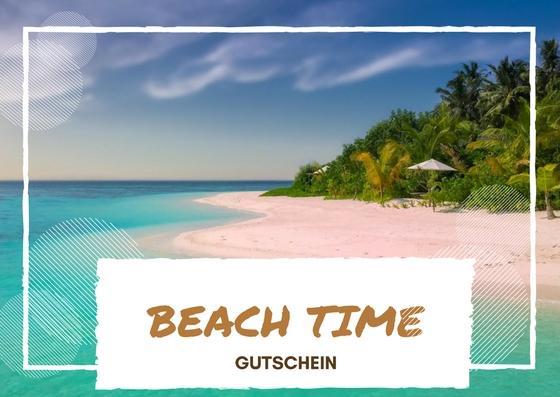 Reisegutschein Beach Time