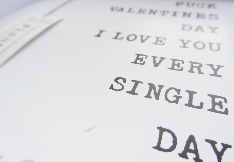 Seien wir mal ehrlich - an Valentinstag geht es letztlich genau darum, die gegenseitige Liebe