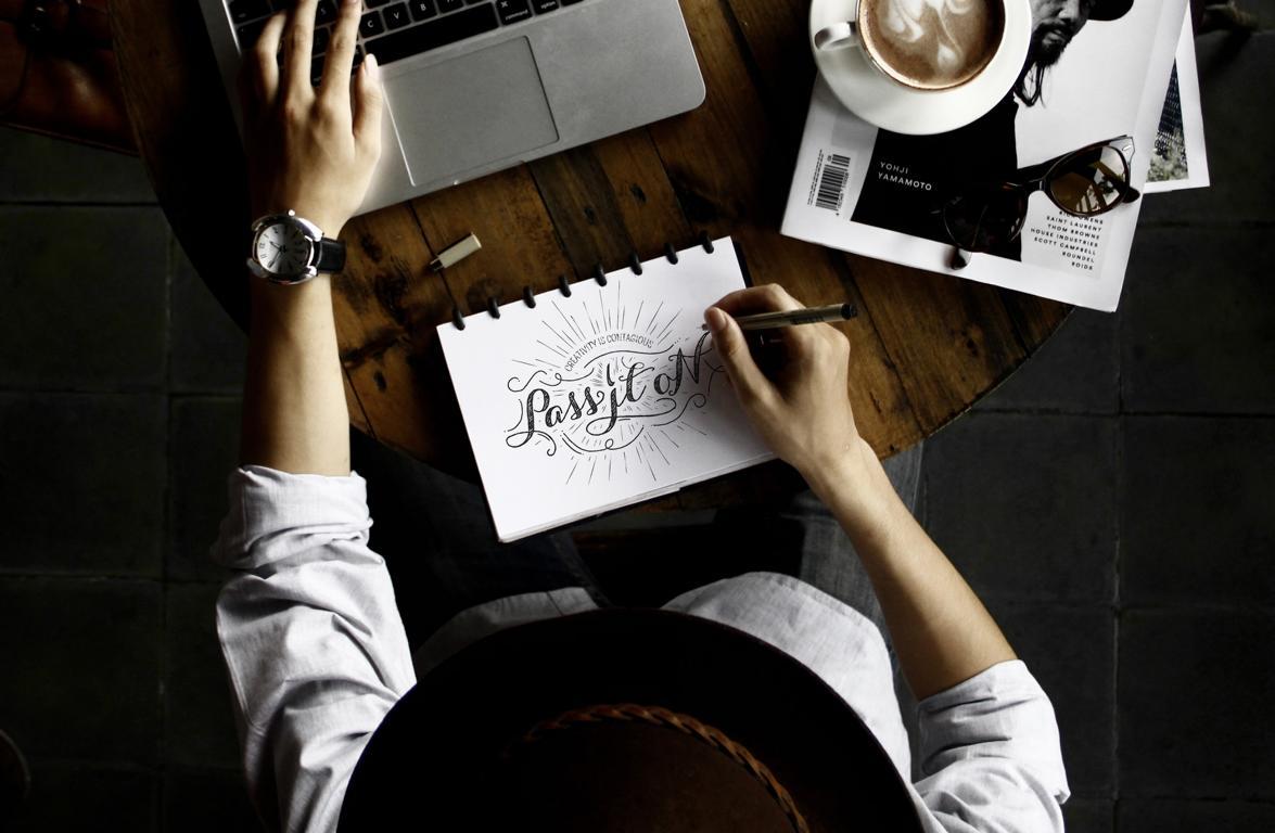 Hand Lettering lernen als kreative Geschenkidee