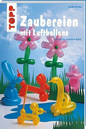 Neben Modellierballons und Luftpumpe passt auch dieses Anleitungsbuch zur Geschenkidee