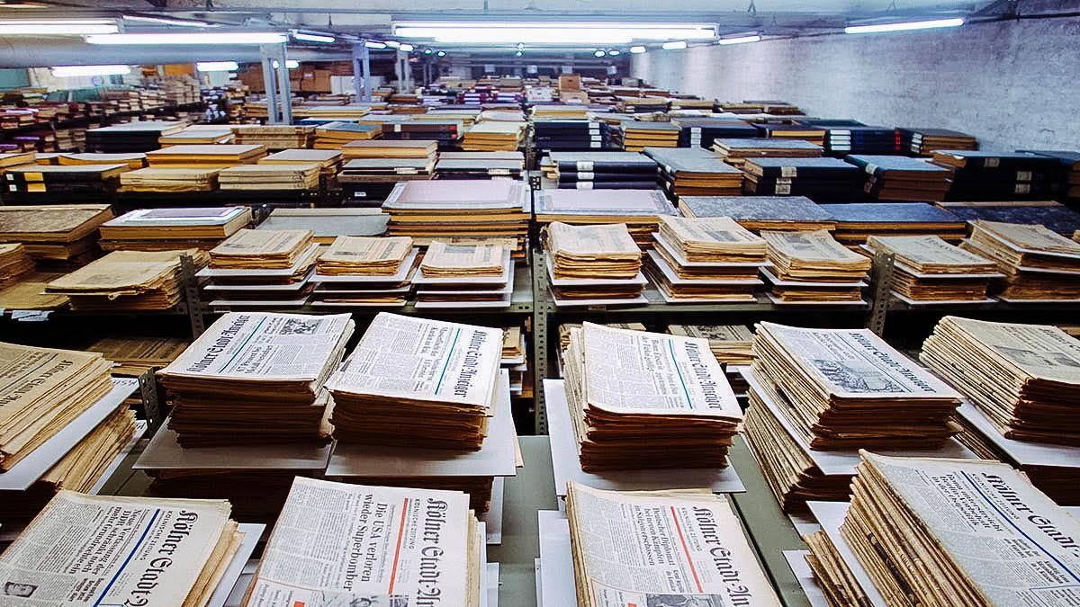 Im Archiv von geschenkzeitung.de schlummern viele historische Zeitungen