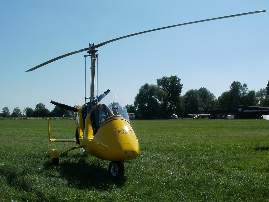 Tragschrauber fliegen ist ein wirklich beeindruckendes Erlebnis - vor allem weil man an der frischen Luft sitzt