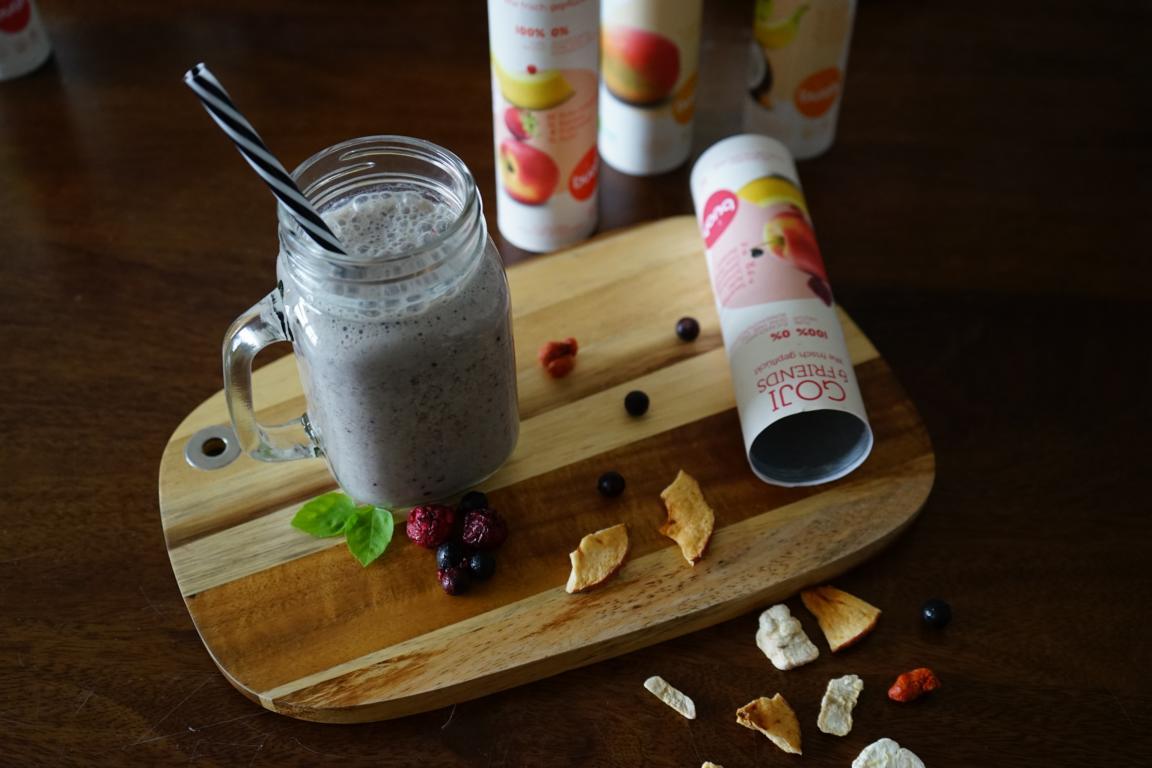 Ruckzuck zum frischen Smoothie mit gefriergetrockneten Früchte