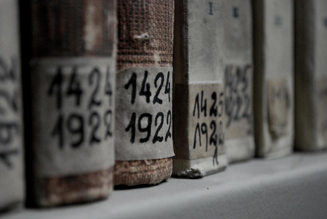 In Ahnenforschungsdatenbanken sind Milliarden von historischen Dokumenten einfach zu durchsuchen