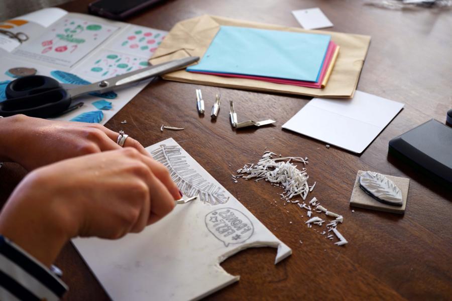 Alle 2 Monate kann man sich mit einer neuen DIY Idee ausprobieren