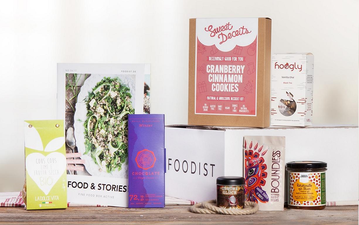 Die vegane Geschenke Box von Foodist hält viele Überraschungen bereit