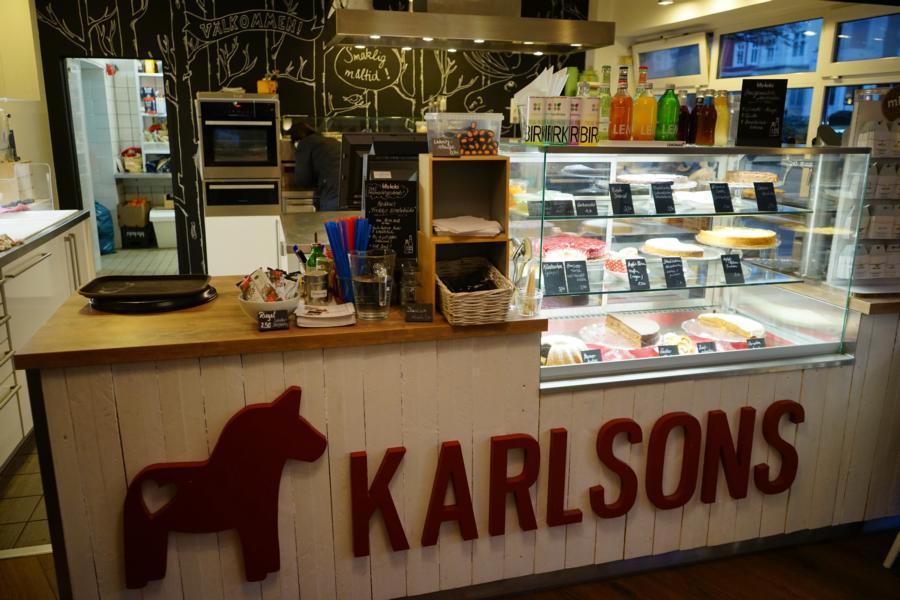 Im Karlsons gab es typische skandinavisch Birkensaft und Lakritz